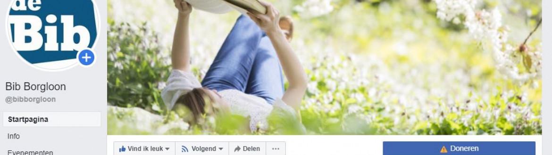 Printscreen FB pagina