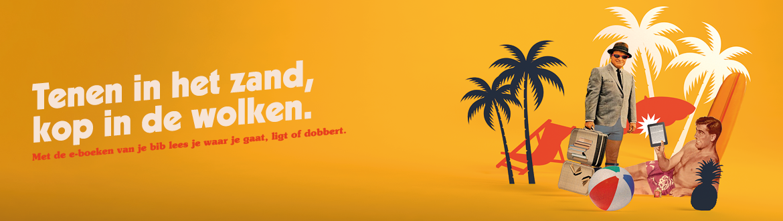 E-boeken vakantie banner